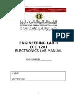 ManualECE1201 Engineering IIUM