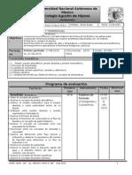 Plan de Evaluación Primer Periodo Área II grupo 6010