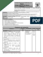 Plan de Evaluación Segundo Periodo Área II grupo 6010