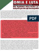 Boletim Autonomia e Luta (Novembro 2015)