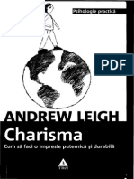 Andrew Leigh - Charisma
