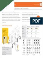Big Foot Standard Frames Product Sheet