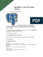 Instalar PostgreSQL 9 (Sacado de La Pag Web)