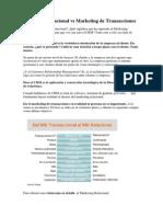 Lectura 1 Mk Relacional vs Mk Transacciones