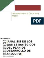 Ejes Estratégicos Plan Regional