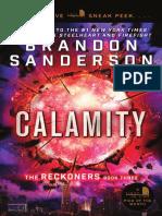 Calamity by Brandon Sanderson