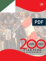 Plan Peru Bicentenario - Plan Apra 2016