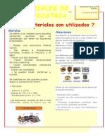 ARTÍCULO TIPO DE MATERIALES