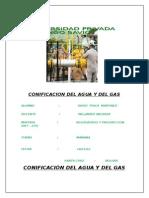 Conificacion Del Agua Del Gas