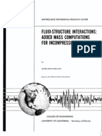EERC-82-09 Fluid-Structure Interactions Added Mass Computations for Incompressible Fluid