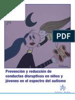 Guía para la prevención y reducción de conductas disruptivas en niños y jóvenes con TEA