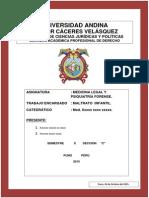 Maltrato Infantil- Cursomedicina Legal.