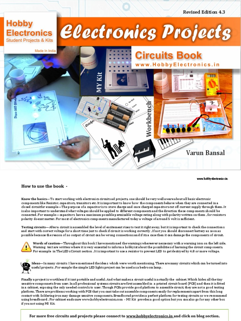 Electronics Projects Diy Capacitor Electronic Circuits Free