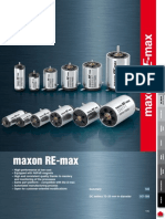 Maxon RE Max Catalog