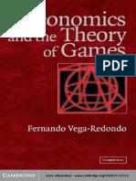 Vega-Redondo - Economics and the Theory of Games