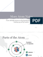 more atom notes