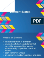 element notes
