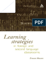 Ernesto Macaro Learning Strategies in Foreign and Second Language Classrooms_ the Role of Learner Strategies 2001