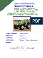 Expediente- Villareal y Quintaojo