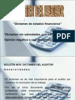 Dictamen Financiero 4010 y 4020
