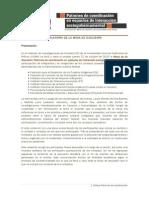 """Relatoría de Mesa de discusión """"Patrones de coordinación en espacios de interacción sociogubernamental"""""""