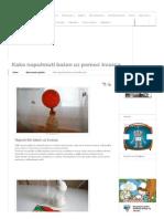 Kako Napuhnuti Balon Uz Pomoć Kvasca - Mali Genijalci