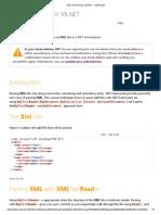 XML File Parsing in VB