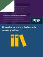 21. Libro Diario, Mayor, Balance de Sumas y Saldos