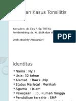 Laporan Kasus Tonsilitis