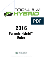 2016 Formula Hybrid Rules Rev 0