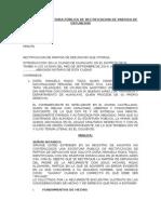 Modelo de Escritura Pública de Rectificacion de Partida de Defuncion