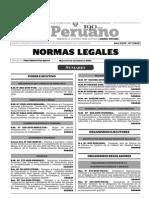 Normas Legales, martes 17 de noviembre del 2015