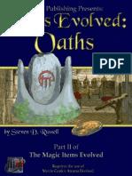 Arcana Evolved - Items Evolved 2 - Oaths