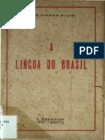 A Lingua Do Brasil Media_Luiz Vianna Filho_1936