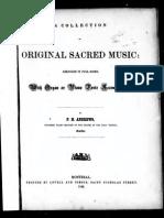 Original Sacred Music f. h. Andrews