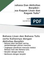 Hafidz Ragam Bahasa Tulis