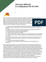 """8. PN-En ISO 13790 2009 """"Energetyczne Właściwości Użytkowe Bud. Obliczanie Zużycia Energii Na Potrzeby Ogrzewania i Chłodzenia."""""""