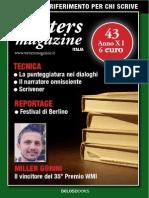 Writers Magazine Maggio 20153