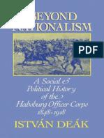 Istvan Deak - Beyond Nationalism