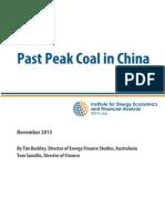 IEEFA Peak Coal November 2015