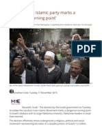 a6cb0869e2dd64 Israeli Ban on Islamic Party Marks a  Dangerous Turning Point