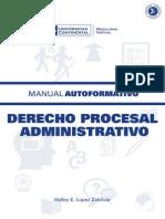 Manual del Derecho Procesal Administrativo