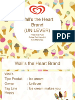 Wall's the Heart Brand