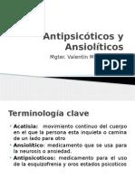 Antipsicóticos y Ansiolíticos Toxicología 1