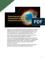 Bio-IT 2015 Exploring and Mapping Autoimmune Disease