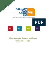 Historique Des Finances Publiques Franaises(1)