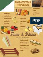 Carta Frutas & Delicias