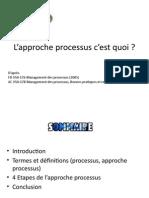 Approche Processus QRRAL v3
