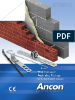 Ancon Wall Ties & Restraint Fixings