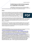 FCC Maximum Permissible Exposure Limits for Electromagnetic Radiation, as Applicable to Smart Meters